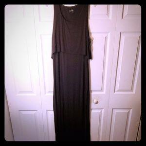 💕New Listing💕 Sexy black maxi dress